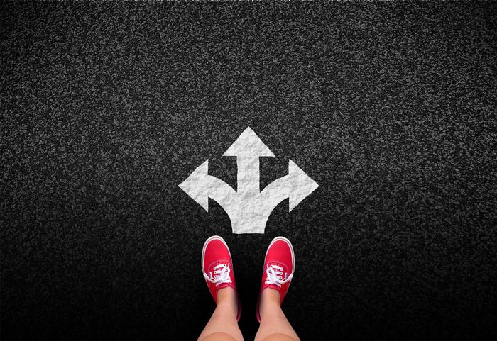 正しい方向と継続