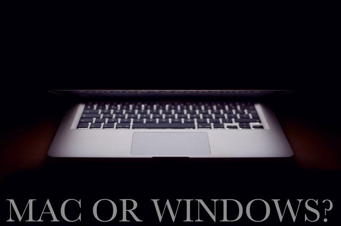 ネットビジネスにおすすめなパソコンはMacかWindowsどっち?